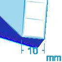 Policarbonato spessore 10 mm