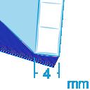 Policarbonato spessore 4 mm