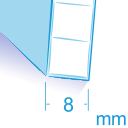Policarbonato spessore 8 mm