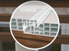 Installazione policarbonato ad incastro